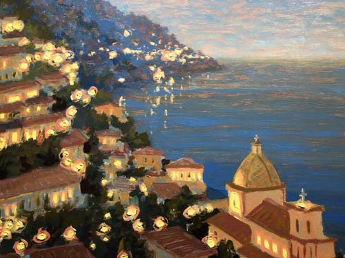 POSITANO LIGHTS