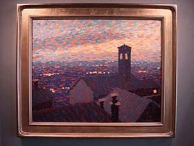 Sunset Over Cortona