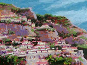 THE HILLS OF POSITANO