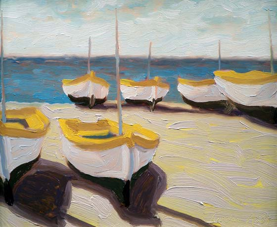 THE BOATS OF POSITANO