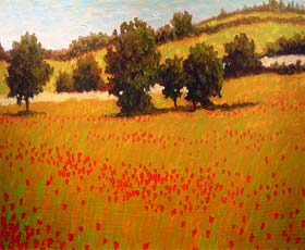 ITALIAN POPPY FIELDS