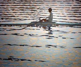 ROWING SILOUETTE